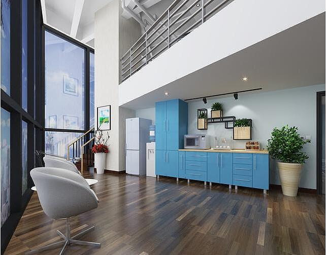 小型办公室装修与设计案例分析