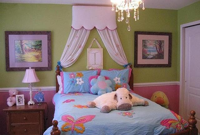 学会这些女孩卧室装修技巧 布置起来超美