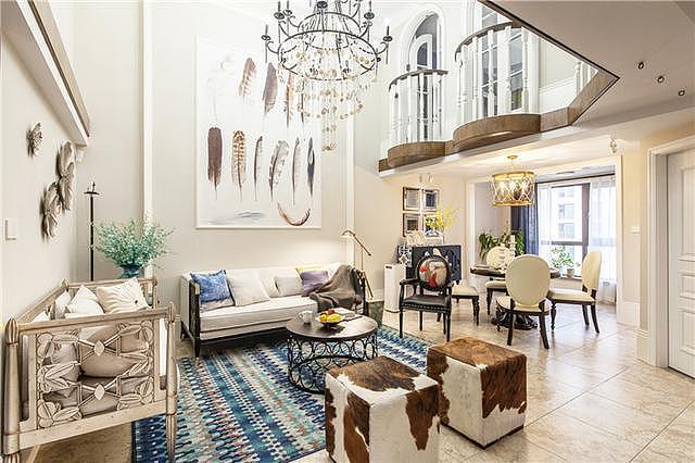 美式风格别墅 尽显屋主斑斓生活和风骨气度!