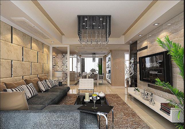 家居装修现代简约风格的色彩搭配