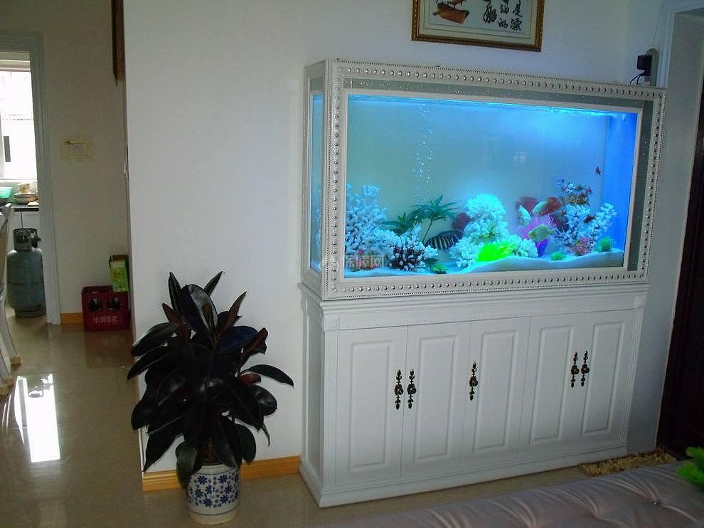 鱼缸放在客厅什么位置好 如何挑选客厅鱼缸图片