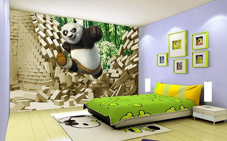 儿童房壁纸颜色如何搭配与选购要点