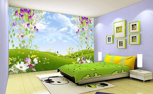 儿童房壁纸的挑选与常见壁纸的对比