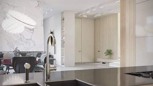 隐形门电视背景墙设计方法与装修技巧
