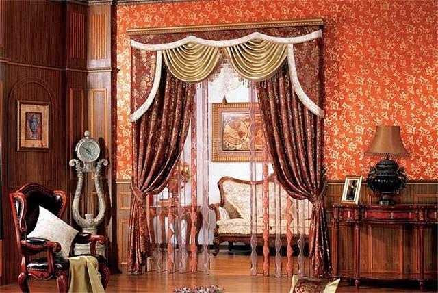 欧式家具配什么窗帘 欧式窗帘特点介绍