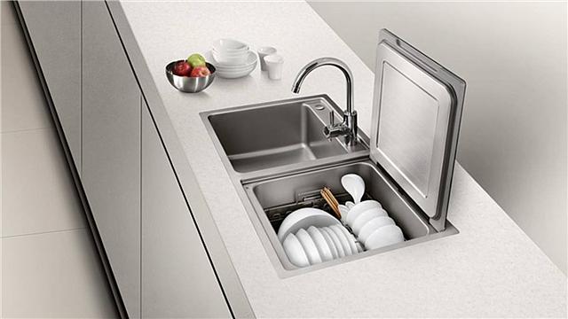 水槽洗碗机的优缺点分析 看完你还会买吗