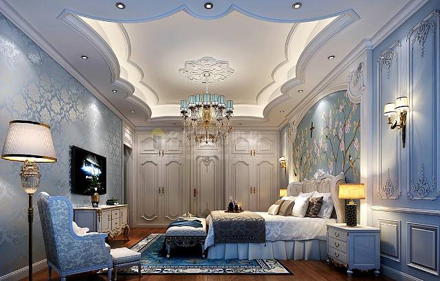 法式风格卧室设计与卧室灯的选择技巧