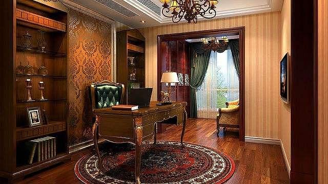 书房装修设计的五个原则与家具选择