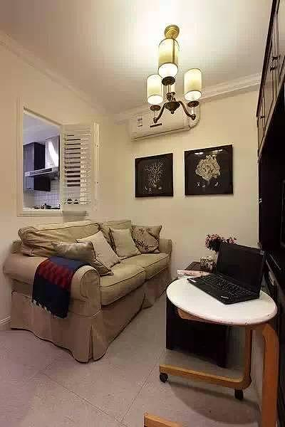 来看看50㎡的空间如何变成一个三居室