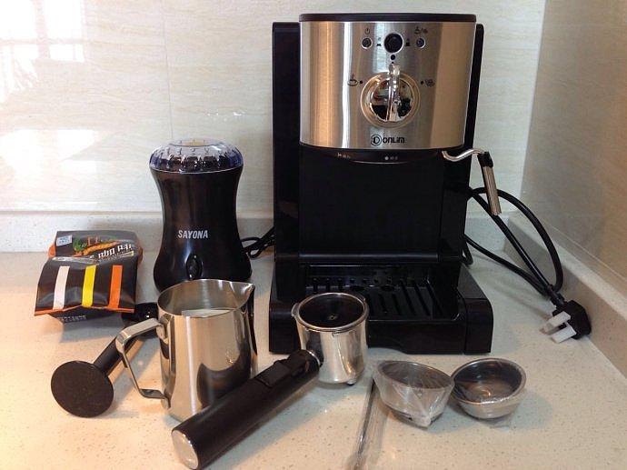 东菱咖啡机怎么样 东菱DL-KF900H咖啡机评测