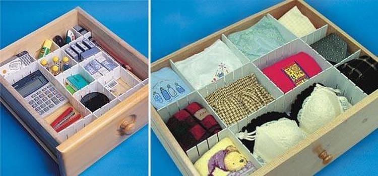 家居DIY:抽屉收纳格子制作方法
