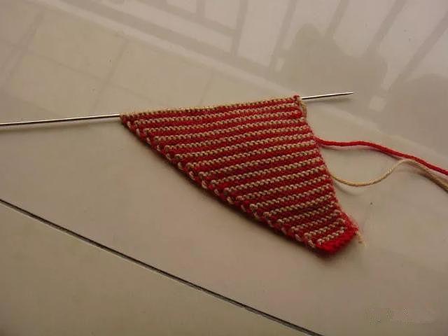 家具DIY:毛线拖鞋的编织教程