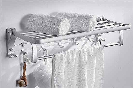 毛巾架太空铝好还是不锈钢好 了解一下避免买错了