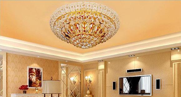 客厅吸顶灯的选购方法与保养方法