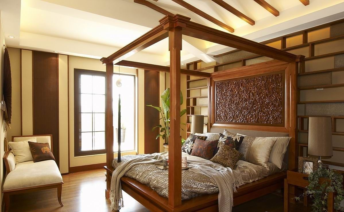 东南亚风格卧室特点 东南亚风格卧室设计说明