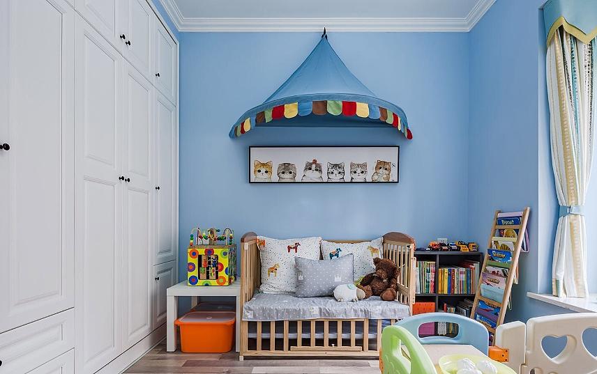 地中海风格儿童房装修攻略 给孩子不一样的童年