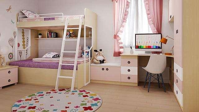 儿童房装修设计原则与颜色搭配技巧