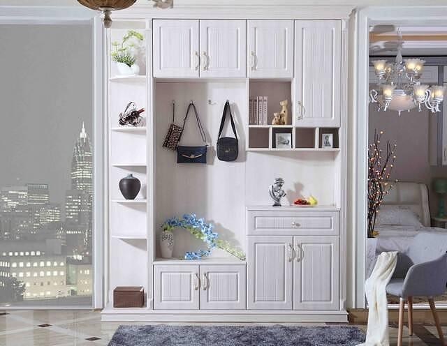 玄关鞋柜如何设计 半开放式收纳鞋柜方便又好看