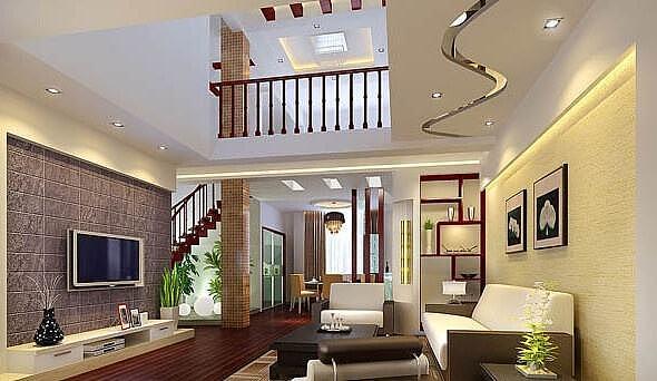 不同空间的复式楼装修设计与4个注意事项