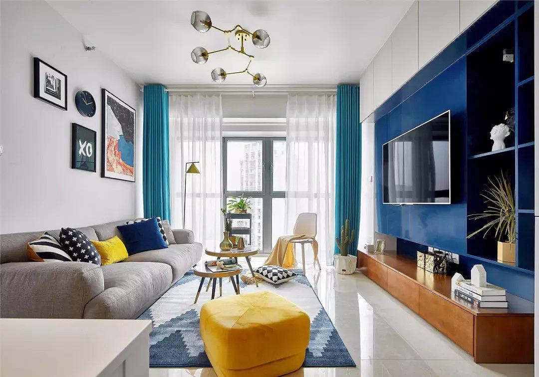 90㎡一厅两室的北欧风家装 看了你一定会喜欢上