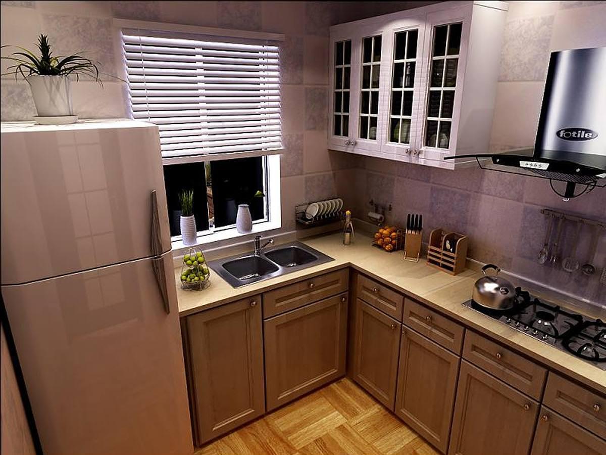 小户型厨房太小?4个收纳技巧让空间变大