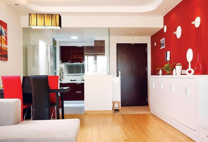 红色的装修最佳搭配方式 让家居色彩鲜活起来