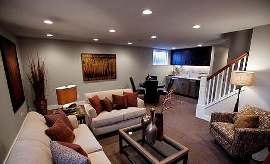 地下室客厅装修效果图 你喜欢哪一款?