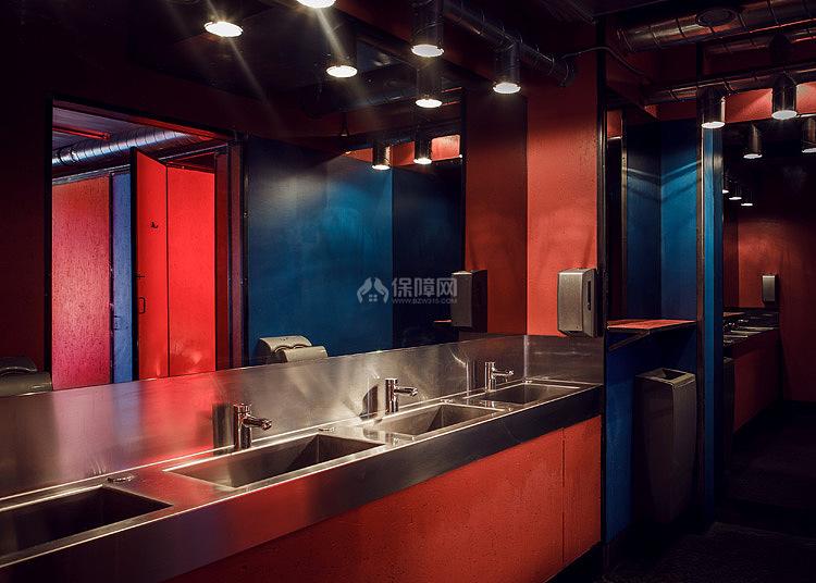 Kolor酒吧餐厅之卫生间设计效果图