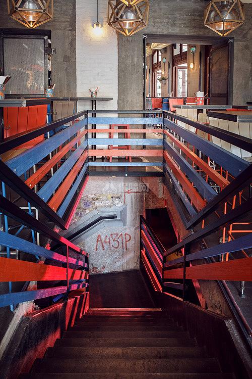 Kolor酒吧餐厅之楼梯设计效果图