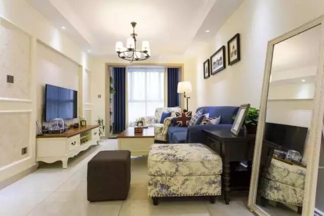 75平米美式小清新装修 打造简单精致的小户型家居