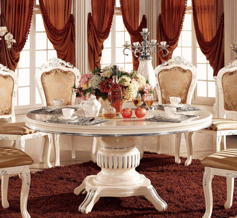 餐厅风水之如何选餐桌
