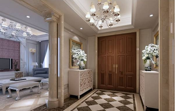 房屋玄关装修设计 来看看如何打造即实用又美观的玄关