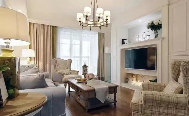 100平米轻奢美式家居 全屋暖色调非常温馨