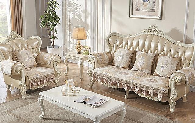 欧式好看的沙发垫 造贵族范儿的客厅
