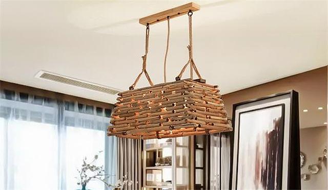 客厅吊灯款式选哪种 数款田园编织吊灯了解一下