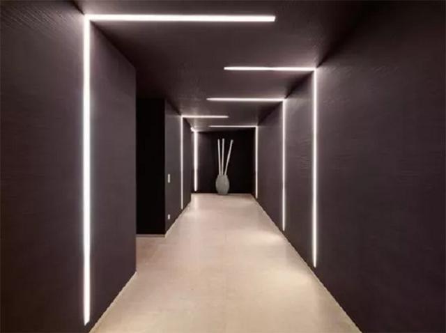 简约风公寓想高级感?快试试隐形灯带,简约时尚又有层次感