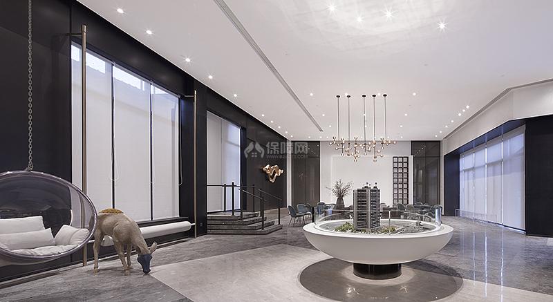 中洲理想仓销售中心沙盘区设计效果图