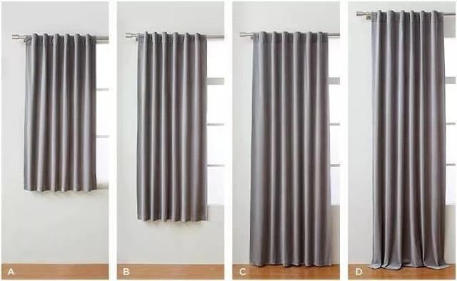 窗帘的挂法变一变 一家的视觉感立即变得好看又显空间大