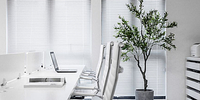 进化美业办公空间设计效果图案例