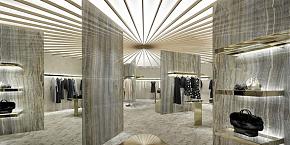 日本大阪m-i-d服装店工装装潢案例