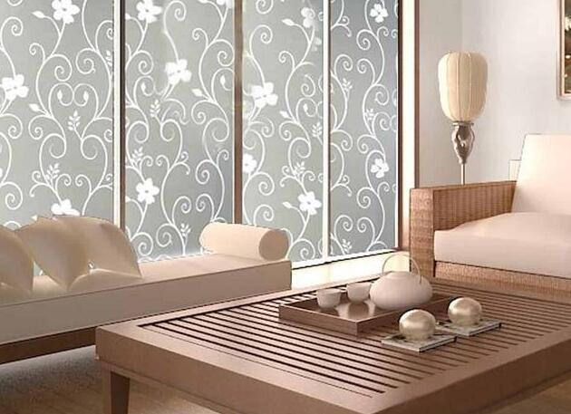 """""""毛玻璃""""在室内装修中如何使用?时尚美观又能提供隐私感"""