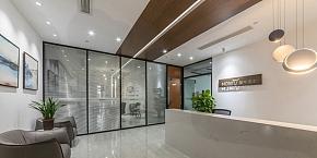 墨牛资本小办公室设计效果图案例