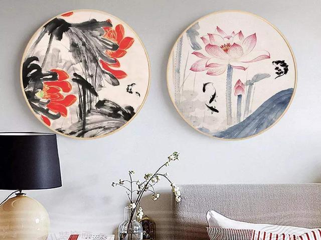 教你5个客厅背景墙装饰画技巧 保你客厅颜值倍增