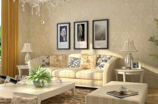 客厅墙纸什么图案大气 客厅墙纸颜色怎么搭配