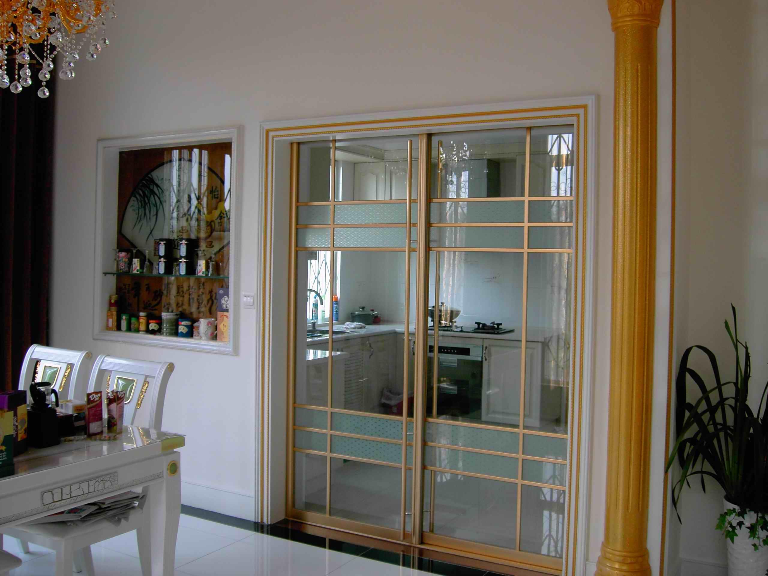 有種廚房門設計叫別人家的設計 不僅好看還實用