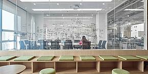 上海Abox壹盒办公室工装设计案例
