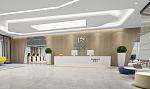 800平米高新技术企业办公室设计,情景式大空间的感召力
