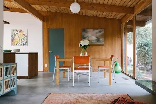 40多年老屋打造出充满甜美的浪漫居所