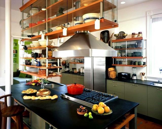 几款厨房收纳神器 又省地儿又实用