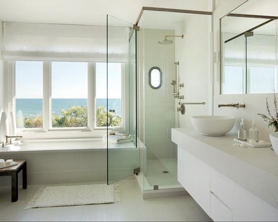 家用浴缸什么样的好 8款靠窗浴缸设计参考一下